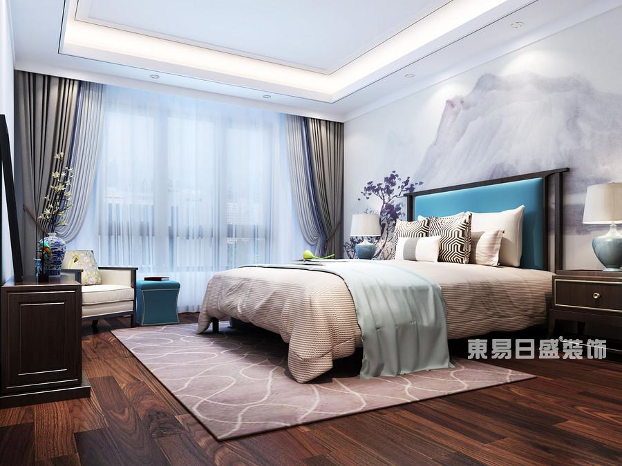 泰安金科·桃花源-新中式-卧室