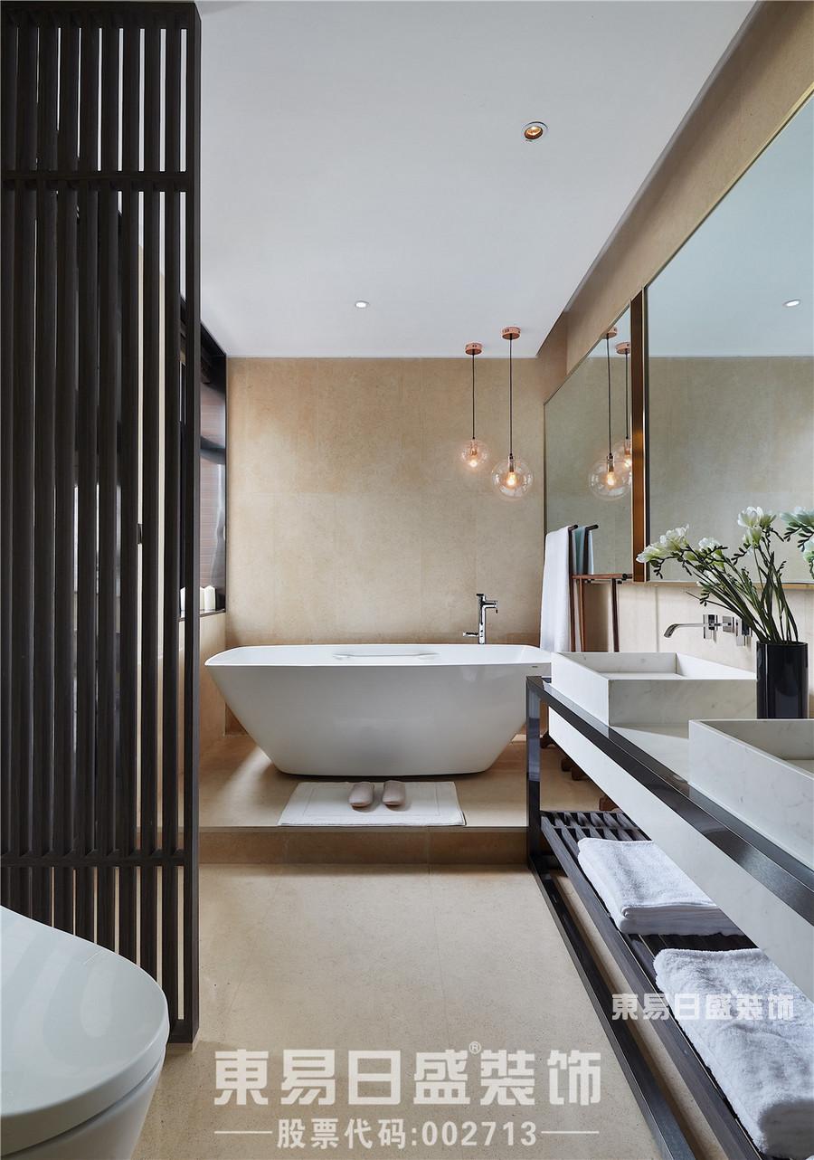 别墅装修设计台式风格-卫生间