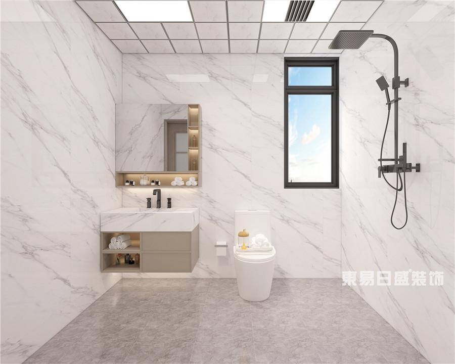 中乐国际-136平米-美式轻奢-卫生间-装修效果图