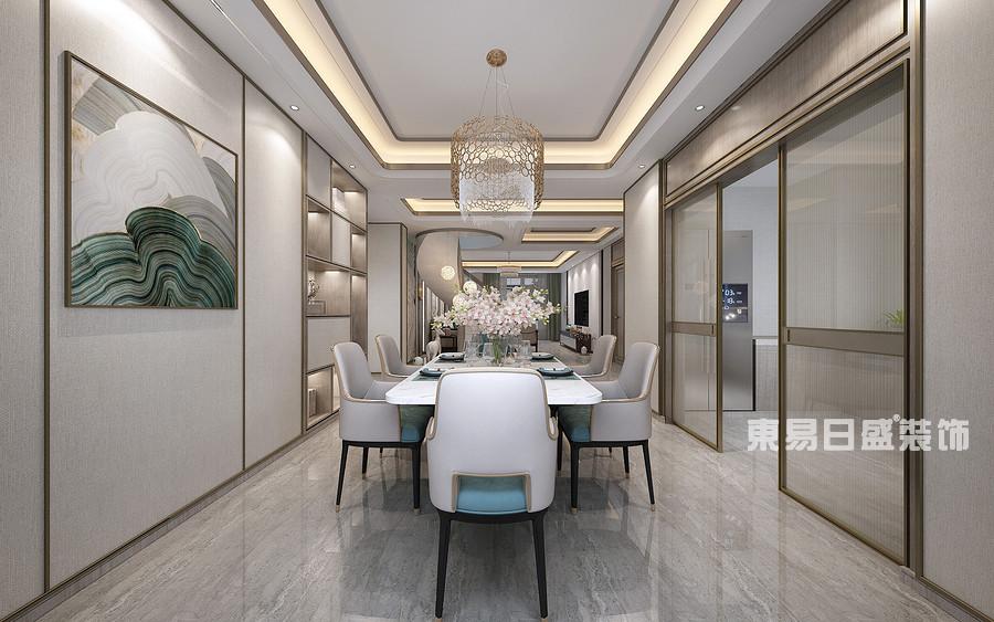 泰安泰山御园-新中式轻奢-餐厅