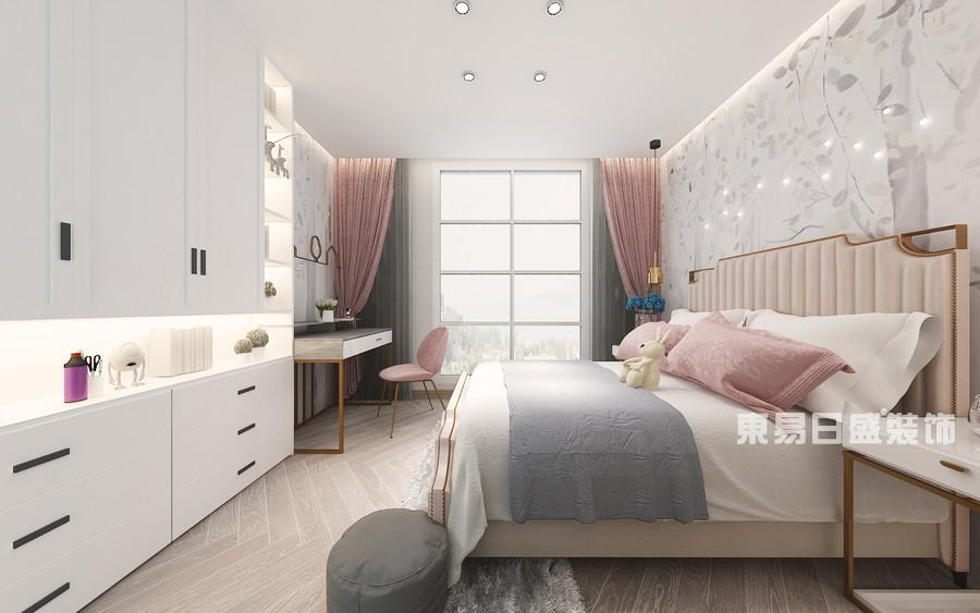 泰安泰山御园-新中式轻奢-儿童房