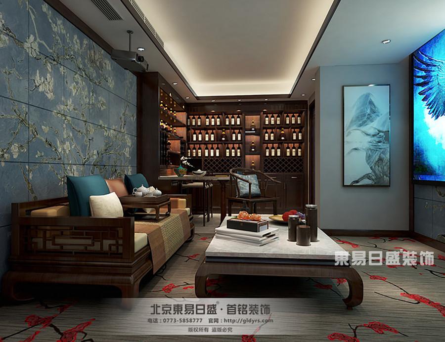 桂林信和信•原乡墅别墅500㎡新古典风格:休闲室装修设计效果图