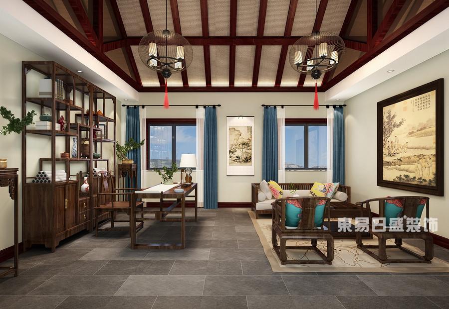 泰安鲁商国际-新中式-茶室