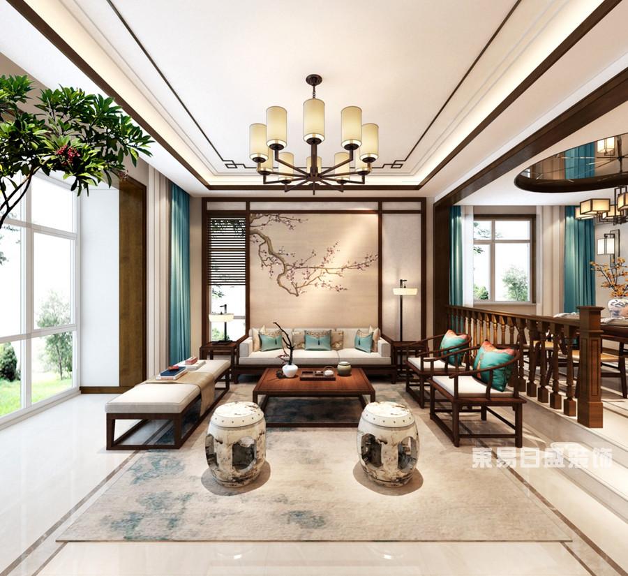 泰安鲁商国际-新中式-客厅